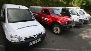 Lamare Water Services vans