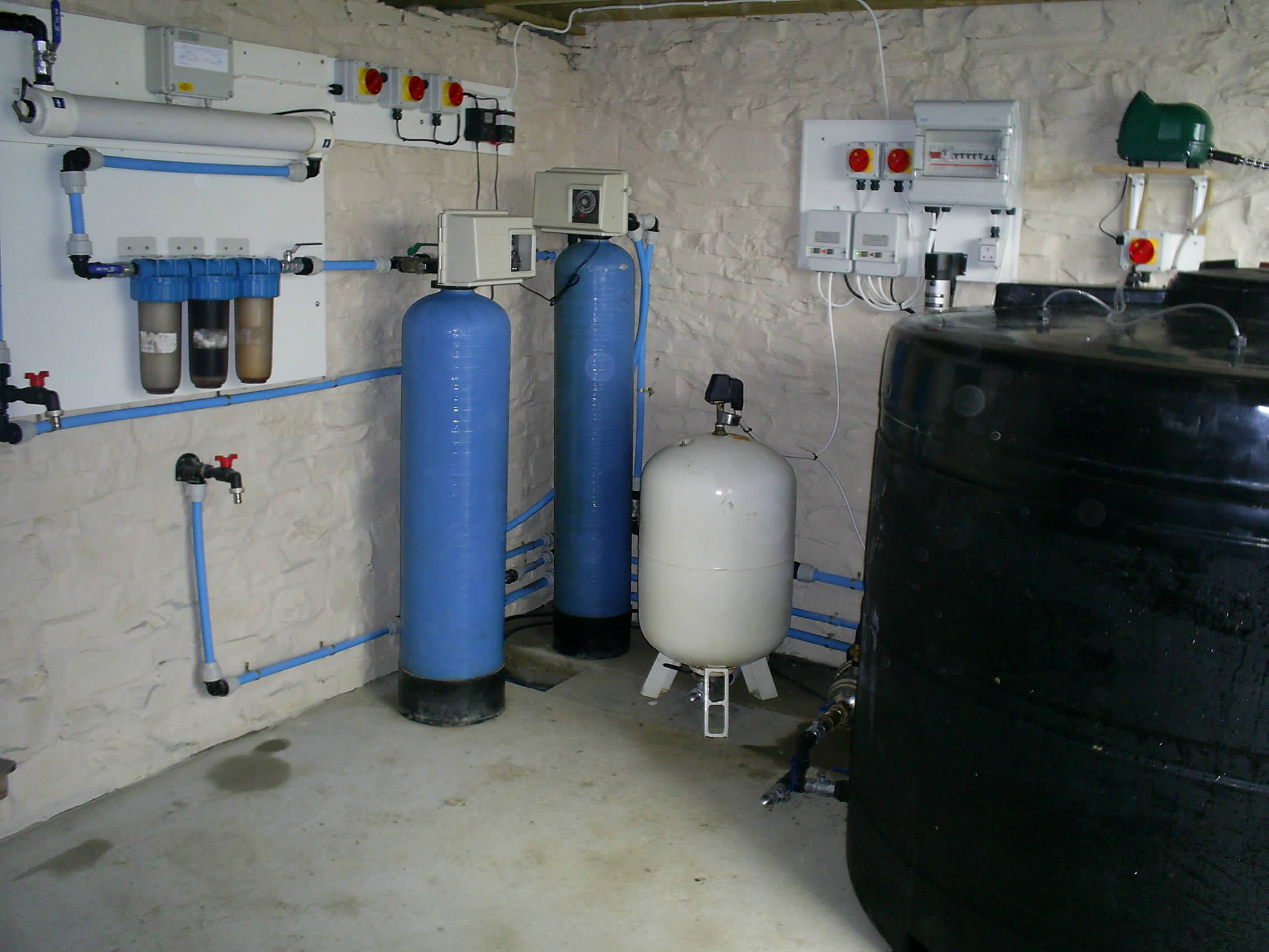 water treatment plant installed by Lamare water, Devon, Cornwall and Somerset